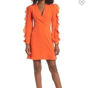 Dresses & Skirts - 🧡Clover and Sloane Orange Dress (Nordstrom)